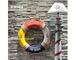 Декоративный спасательный круг 60 см Мультиколор