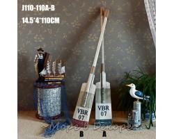 Весла декоративные (комплект 2 шт) - 110 см, дерево