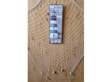 Картина морская Маяк, 60см, дерево