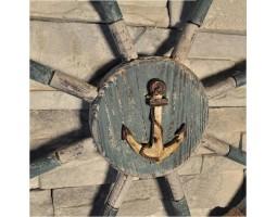 Штурвал деревянный 70см