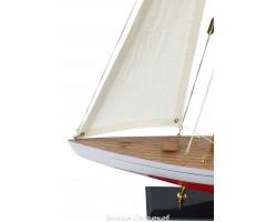 Модель яхты из дерева, 56 см RED