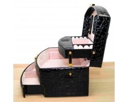 Шкатулка для ювелирных украшений Valise 057 BLACK