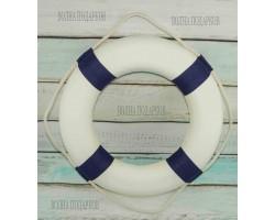 декоративный Спасательный круг  50 см синий