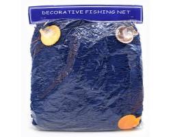 декоративная морская Сеть  4х2 метра синий цвет