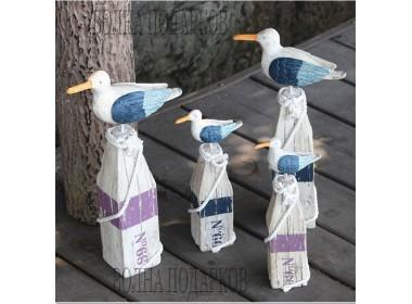 Декоративные Чайки (комплект 2 шт- 30 см, 40 см) К