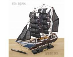 Пиратский корабль декоративная модель