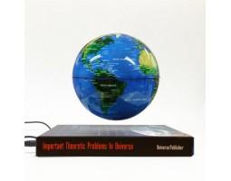 Левитирующий глобус на книге