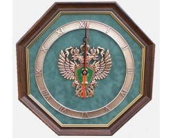 """Часы с символикой """"Прокуратура"""" 34 cм"""