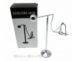 маятник Лыжник  16 см , металл