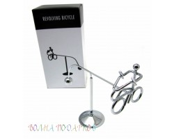 маятник Велосипедист 16 см, металл