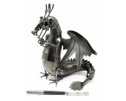 Статуэтка Металлический Дракон