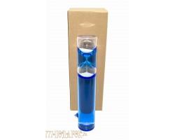 Жидкие песочные часы на 3 мин,высота 25см