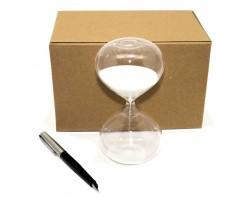 Песочные часы  10 минут, белый песок