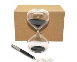 Песочные часы на 10 минут,черный песок