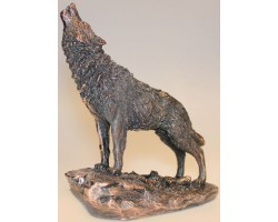 "Статуэтка ""Воющий волк"""