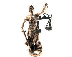 Статуэтка богиня  правосудия Фемида, 21см