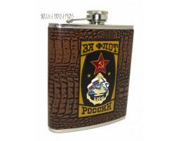 Оригинальная фляжка «За флот России»