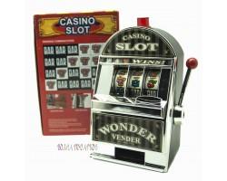 Копилка Игровой автомат принимает 99% монет мира