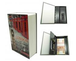 Книга сейф с кодовым замком London