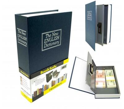 "Книга сейф с кодовым замком  ""The new english dictionary"" | 24см"