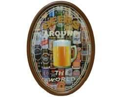 "панно барное  ""Пиво - вокруг света"""