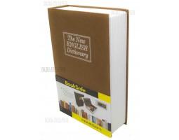 Книга сейф с кодовым замком  The new english dictionary GOLD| 24см