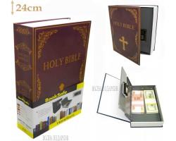 Книга сейф с кодовым замком  Bible| 24см