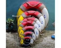 Декоративный спасательный круг 50 см Мультиколор