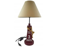 "Лампа в морском стиле ""Три узла"" 54см"