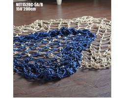 декоративная морская Супер Сеть 4х2 метра синий цвет