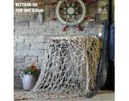 декоративная морская Супер Сеть 4х2 метра белый цвет