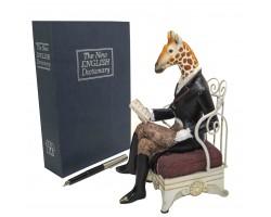 """Статуэтка """"Элегантный жираф""""  высота 20см"""