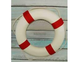 Спасательный круг декоративный 45 см красный