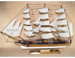 Модель корабля Барк «Симон Боливар», 50см, дерево
