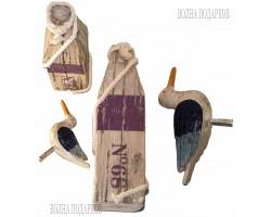 Декоративные Чайки (комплект 2 шт- 30 см, 40 см) синие