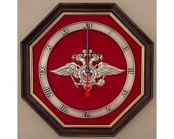 """Часы с символикой """"МВД"""" 34 cм"""