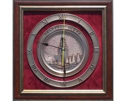 """Часы с символикой """"Кремль"""" 34 cм"""