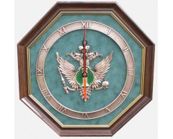 """Часы с символикой """"Юстиция"""" 34 cм"""