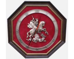 """Часы с символикой """"Герб Москвы"""" 34 cм"""