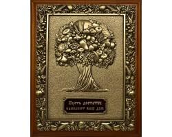 "Ключница ""Дерево изобилия"" размер 26х21см"