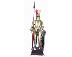 Рыцарь напольный 2 метра  с копьем и щитом