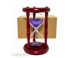 Песочные часы 15 минут фиолетовый песок VP-STW60015