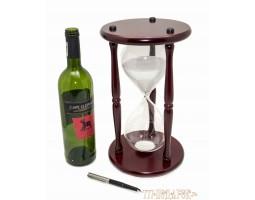 Часы песочные Гигант  90 минут белый песок, высота 30см