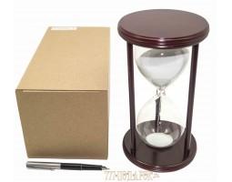 Часы песочные 30 минут белый песок VP-STW8025