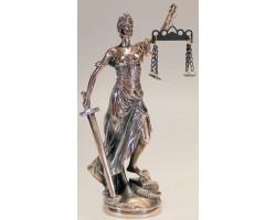 Статуэтка богиня  правосудия Фемида, 32 см
