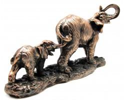 "Статуэтка ""Слон и слоненок"""