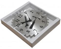 """Настенные металлические часы  """"Пила"""""""