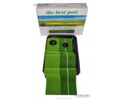 Дорожка для офисного гольфа 3 метра с автовозвратом мяча