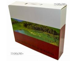 Набор для гольфа в деревянном кейсе