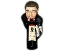 Статуэтка напольная Официант - держатель 5 бутылок